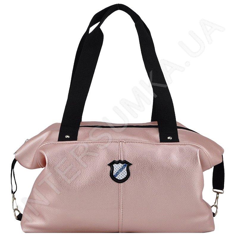 8b03c32a261b Молодежная сумка Voila 57178 цвет розовое золото купить в intersumka.ua