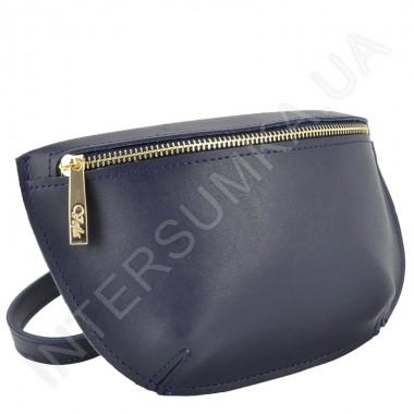 a416c0c9c904 Сумка - бананка кросс боди Voila 80894 экокожа синяя стильная сумка ...