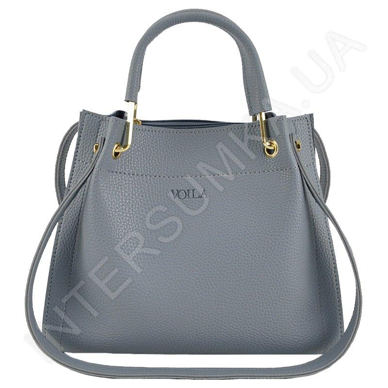 81fb074d258d Сумка женская Voila 834304 голубая стильная качественная - купить в ...