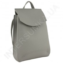 Жіночий рюкзак Wallaby 17431711 сіра екокожа