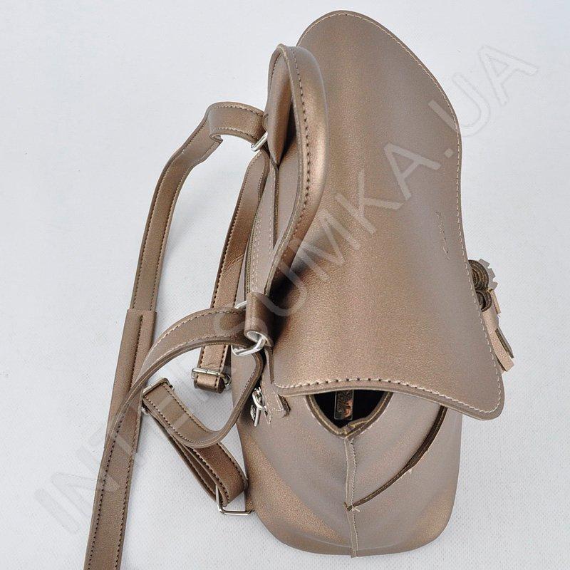2a858bff8564 Женский рюкзак Voila 190385 бронзовый стильный удобный купить с ...