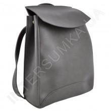 Жіночий рюкзак Wallaby 17412041 темно - сіра екокожа