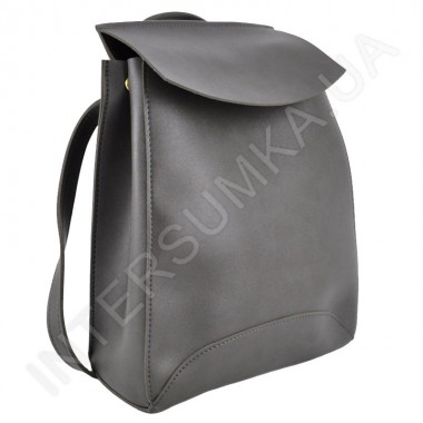 Заказать Женский рюкзак Wallaby 17412041 темно - серая экокожа  в Intersumka.ua