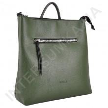 Женский рюкзак - трансформер Voila 19246916 зелёный