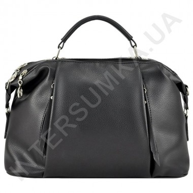 Заказать Сумка женская из экокожи Voila 520155 черная в Intersumka.ua