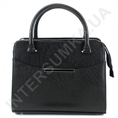 Заказать Сумка женская Voila 795454 чёрная из экокожи в Intersumka.ua