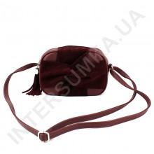 Женская сумка кросс боди Voila 59715304245 с натуральным замшем