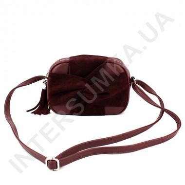 Заказать Женская сумка кросс боди Voila 59715304245 с натуральным замшем в Intersumka.ua