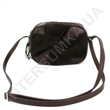 Заказать Женская сумка кросс боди Voila 59727071 с натуральным замшем в Intersumka.ua