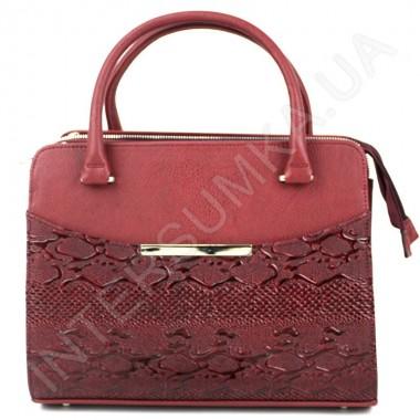 Заказать Сумка женская Voila 79545928 цвет марсала из экокожи в Intersumka.ua