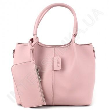 Заказать Сумка женская Voila 658492 розовая экокожа в Intersumka.ua