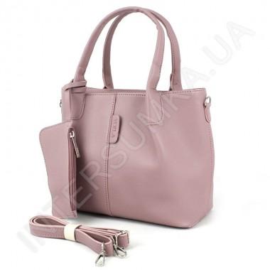 Заказать Сумка женская Voila 758527 розовая экокожа в Intersumka.ua