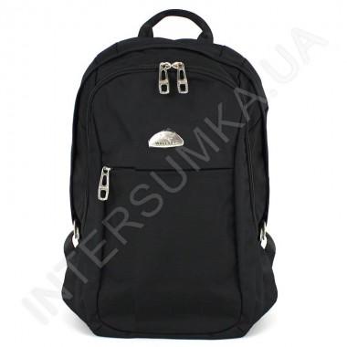 Заказать городской рюкзак WALLABY 9248_black 2 отдела + отдел под ноутбук в Intersumka.ua