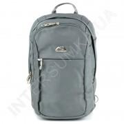 городской рюкзак WALLABY 9248_grey 2 отдела + отдел под ноутбук