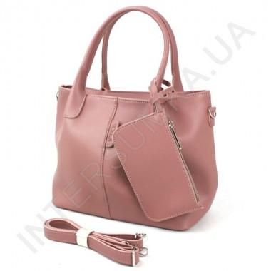 Заказать Сумка женская Voila 758537 розово - пудровая экокожа в Intersumka.ua