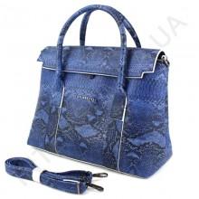 Жіноча сумка - портфель Voila 782101 синього кольору