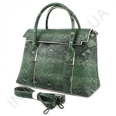Заказать Женская сумка - портфель Voila 782102 зелёного цвета в Intersumka.ua