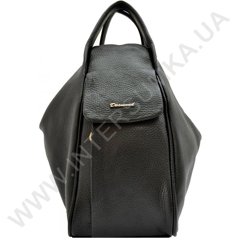 Молодіжна якісна сумка-рюкзак з натуральної шкіри Diamond 1560 ... 5b913e5d4b054