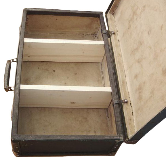 Конструкция старого чемодана